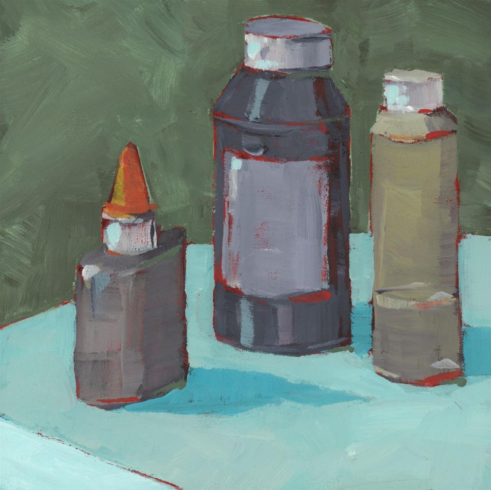 """""""0952: Glue & Gesso"""" original fine art by Brian Miller"""