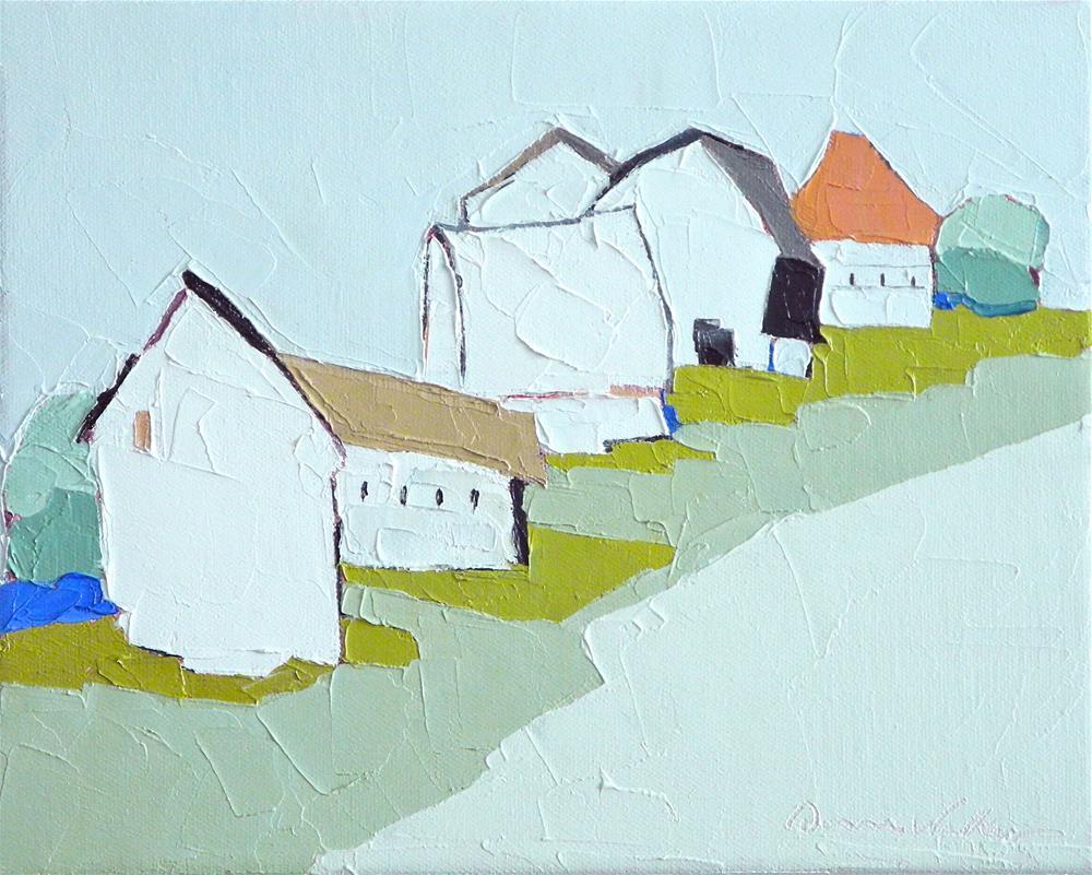 """""""Farmland Jubilee"""" original fine art by Donna Walker"""