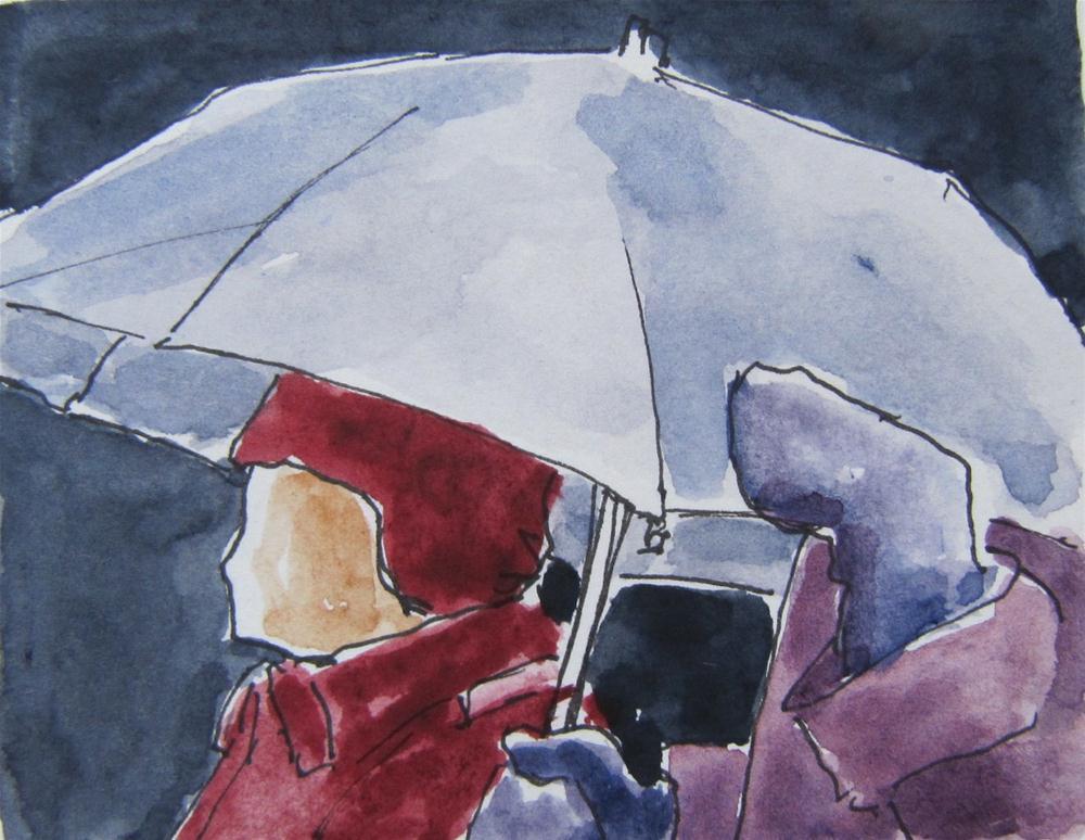 """""""The Painted Small Challenge"""" original fine art by Steinunn Einarsdottir"""