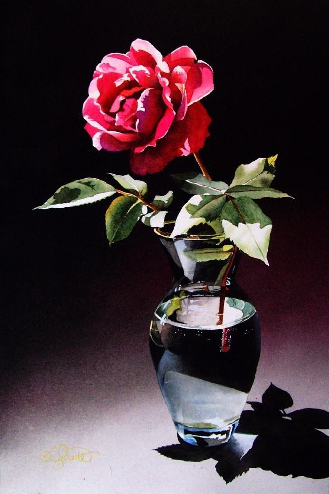 """In The Spotlight"" original fine art by Jacqueline Gnott, TWSA, WHS"