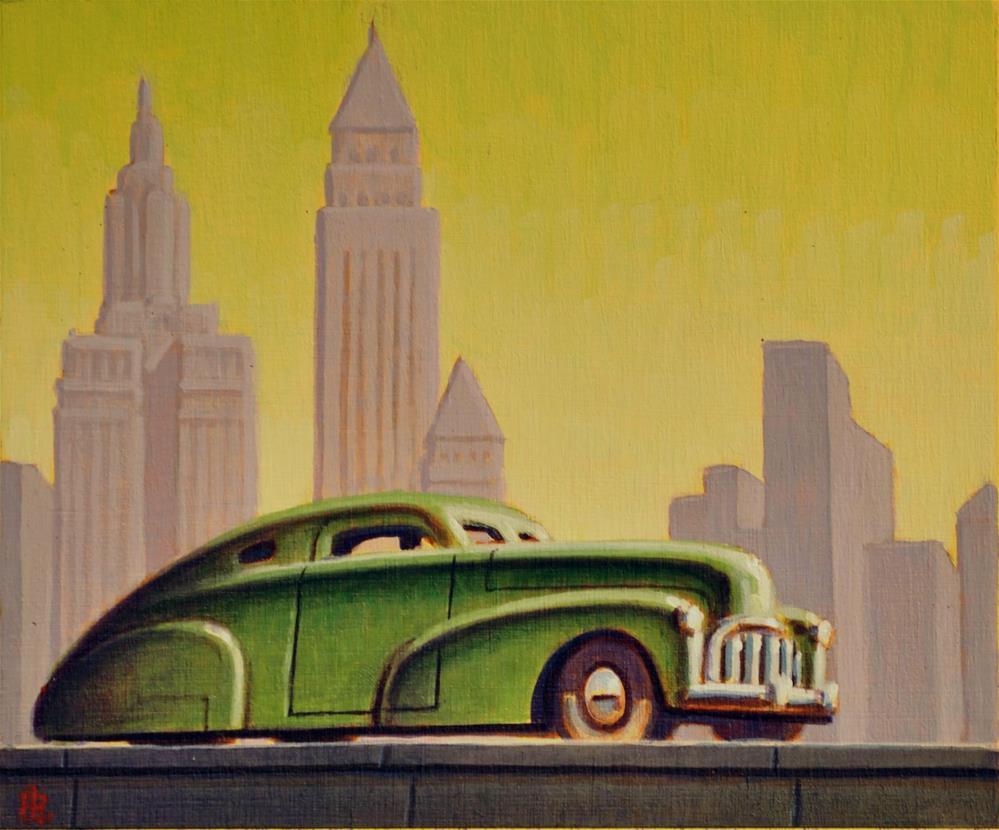 """Grill"" original fine art by Robert LaDuke"