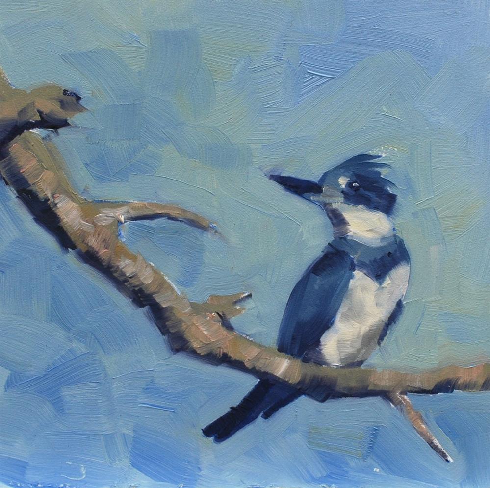 """Lucky Bird"" original fine art by Susan McManamen"