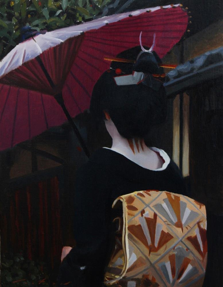 """Kyowagasa"" original fine art by Phil Couture"