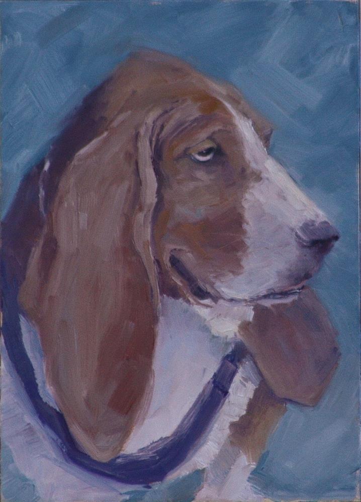 """""""Floyd"""" original fine art by Sheila Marie"""