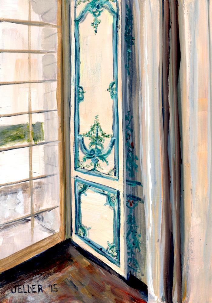 """Versailles Again"" original fine art by Judith Elder"