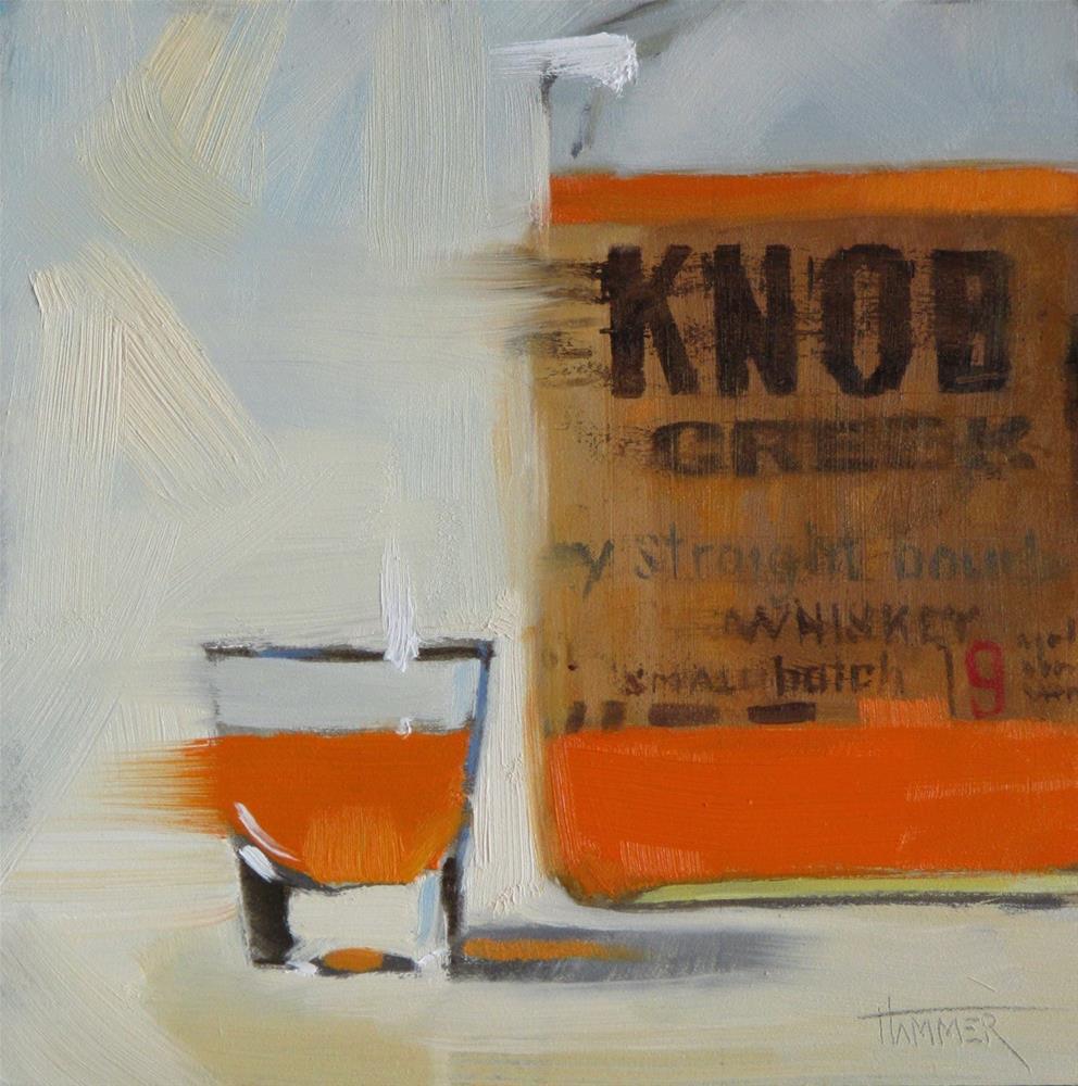 """Knob Creek straight"" original fine art by Claudia Hammer"