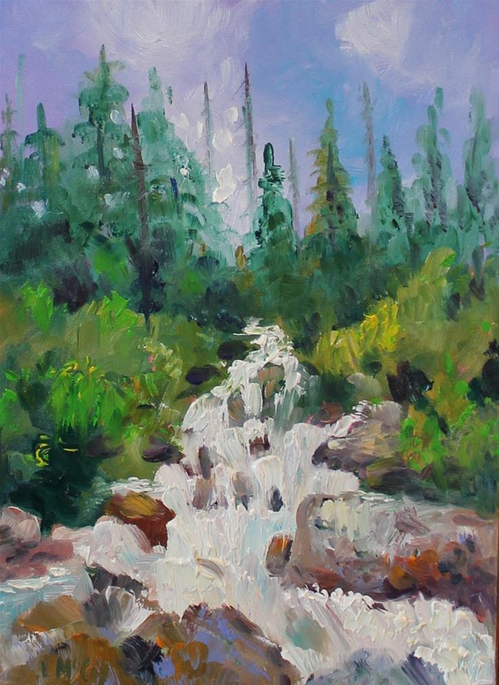 """Rushing Water, Colorado River"" original fine art by Linda McCoy"