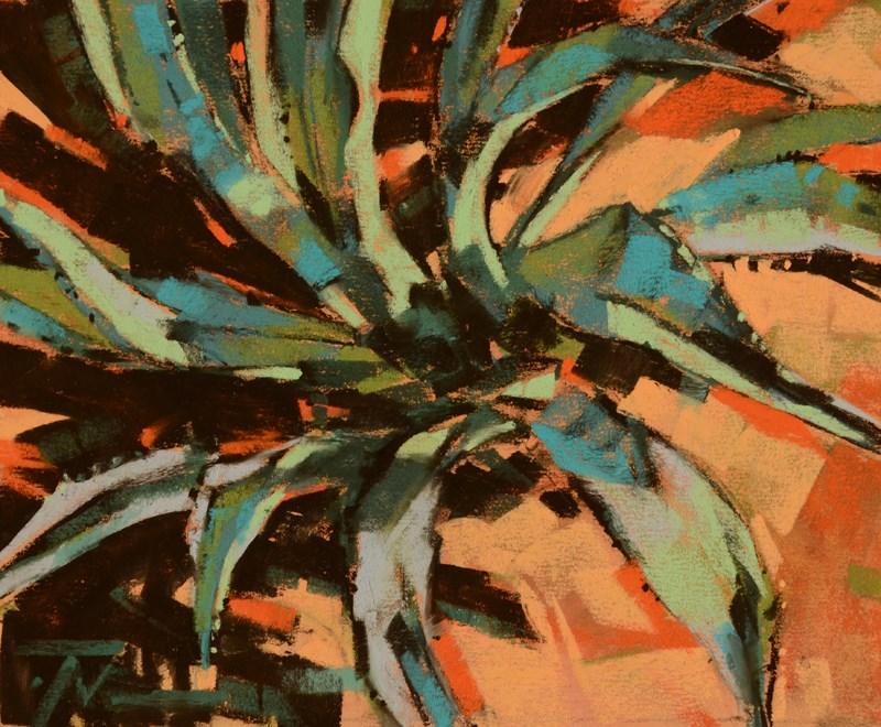 """""""Desert Trek"""" original fine art by Jennifer Evenhus"""