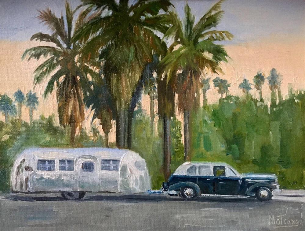 """""""California Dream"""" original fine art by Patricia Matranga"""