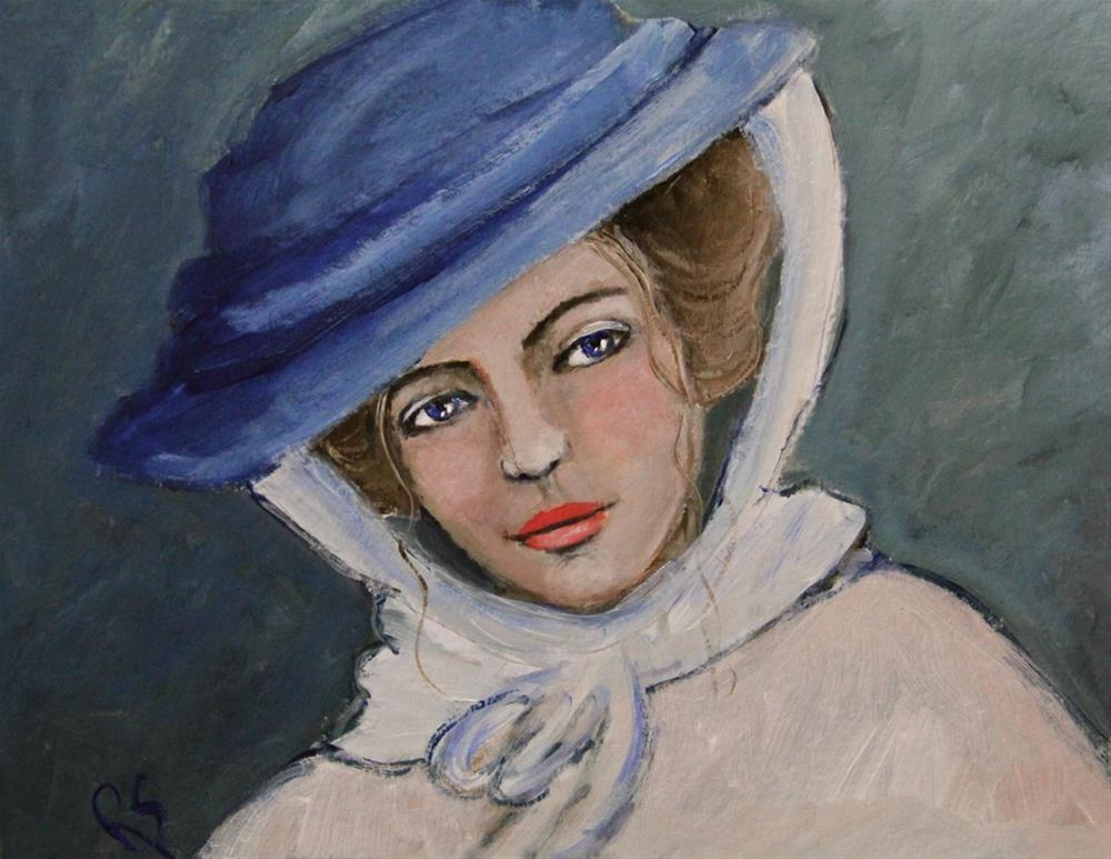 """A Portrait of Alice"" original fine art by Roberta Schmidt ArtcyLucy"