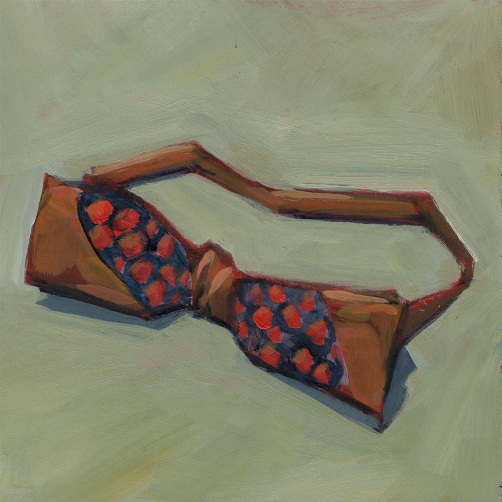 """0385: It All Started With the Vintage Bowtie"" original fine art by Brian Miller"