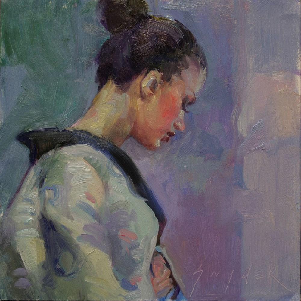 """Audience"" original fine art by Julie Snyder"