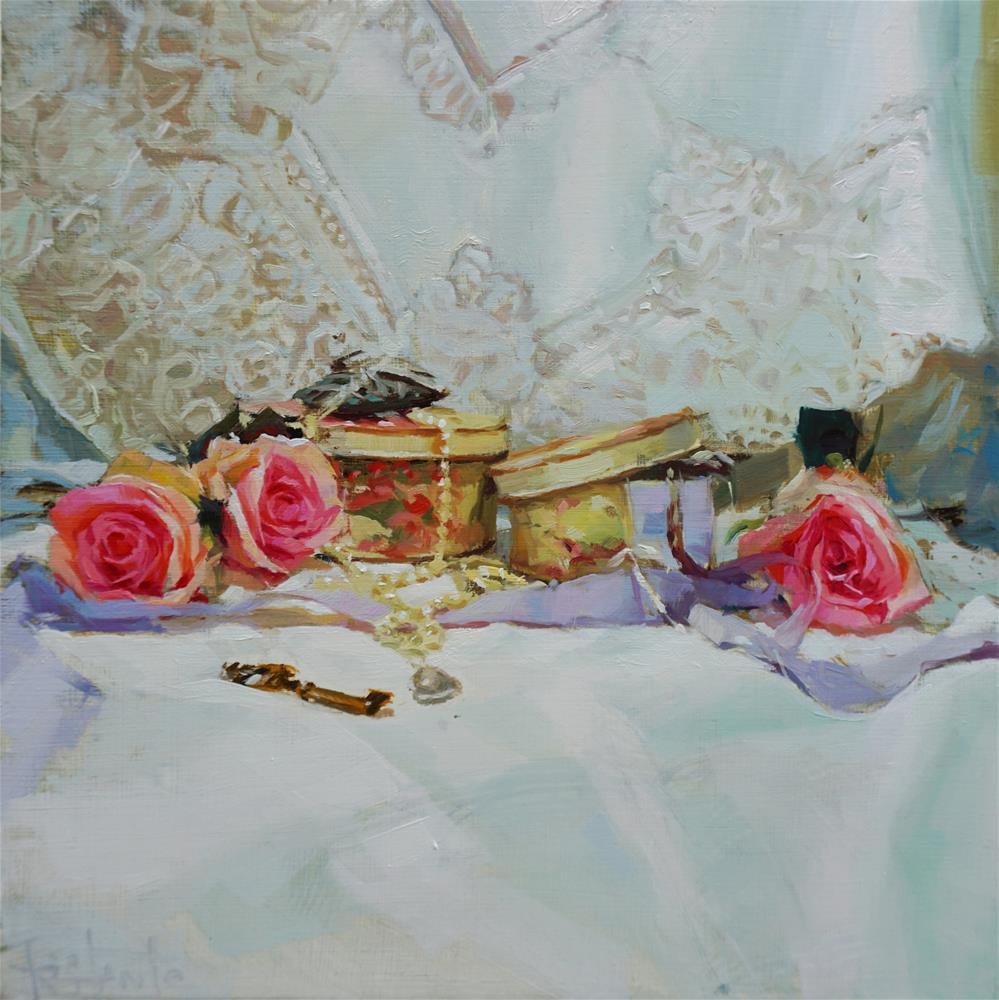 """Shabby still life"" original fine art by Víctor Tristante"