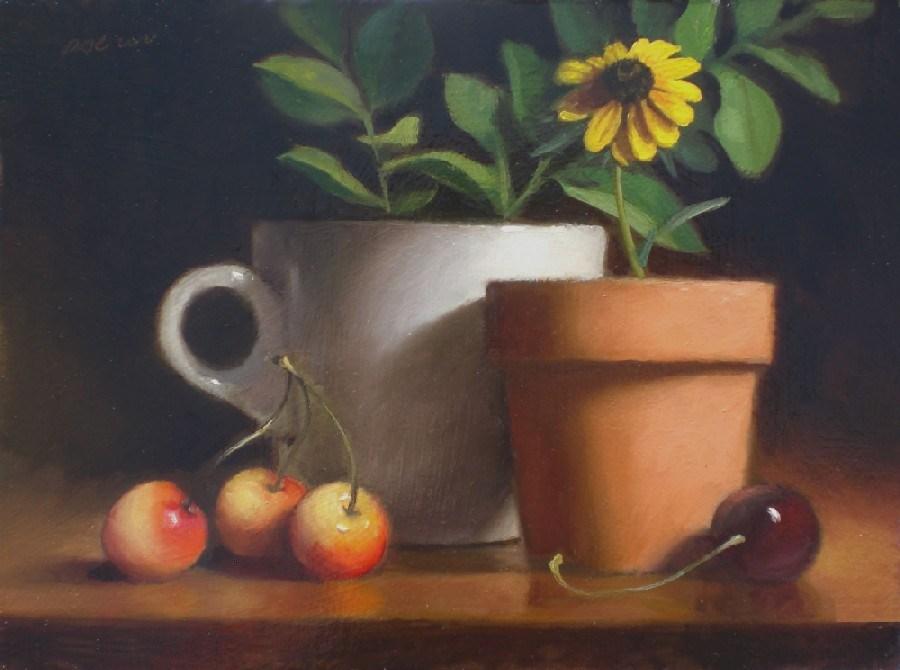 """Midsummer Shadows"" original fine art by Debra Becks Cooper"