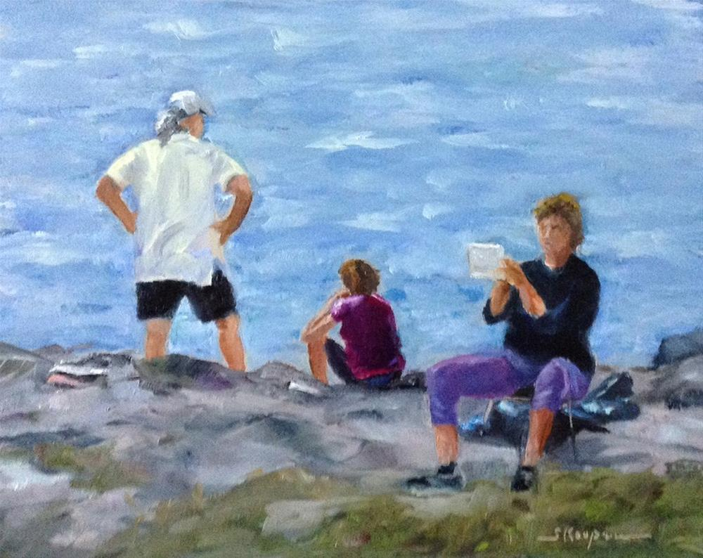"""""""Art in the Making"""" original fine art by Shelley Koopmann"""