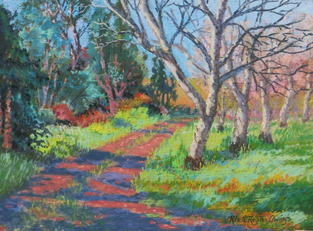 """Walnuts, Meet the Blue Gums"" original fine art by Rhett Regina Owings"