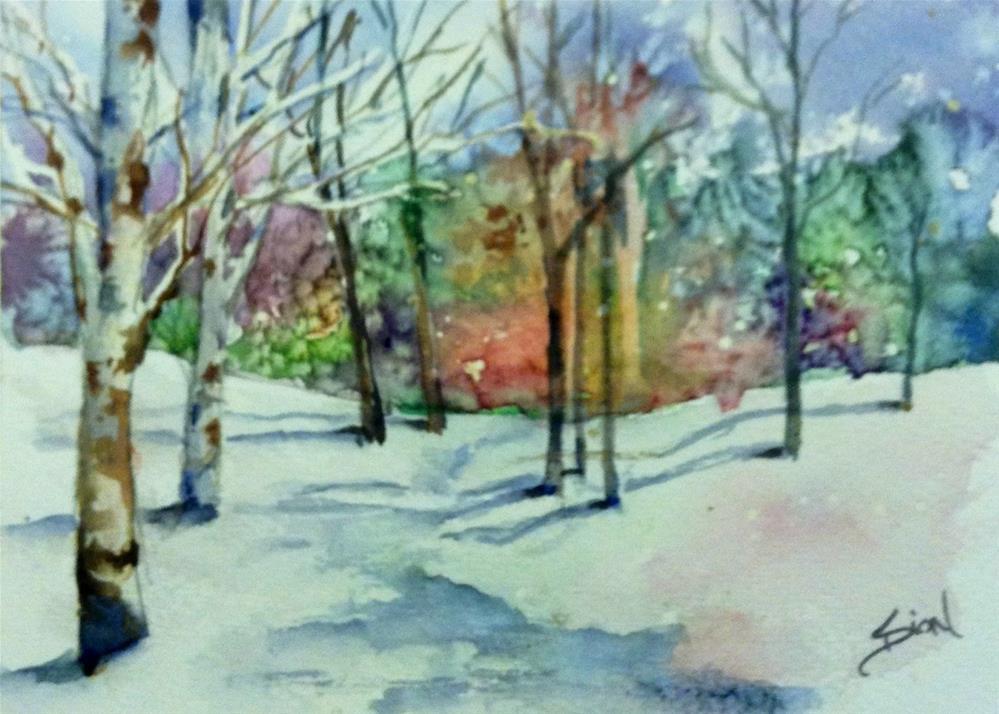 """A New Day"" original fine art by Sue Dion"