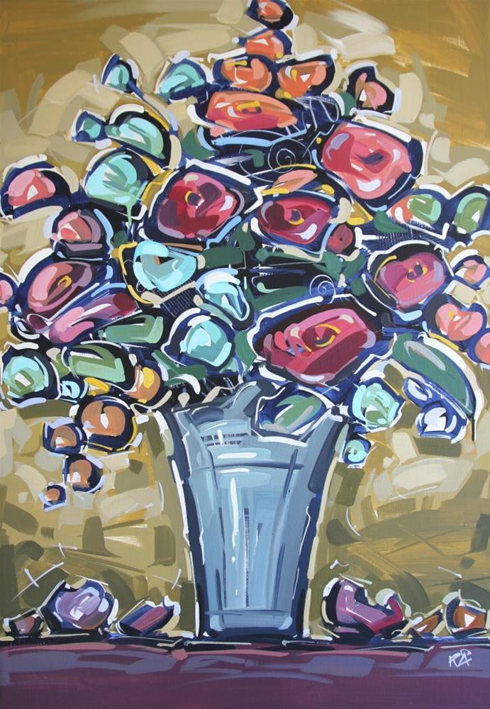 """Flower Exploration 11"" original fine art by Roger Akesson"