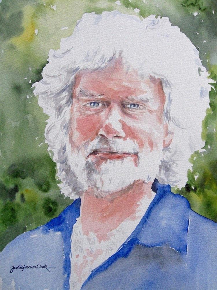 """Scott"" original fine art by Judith Freeman Clark"