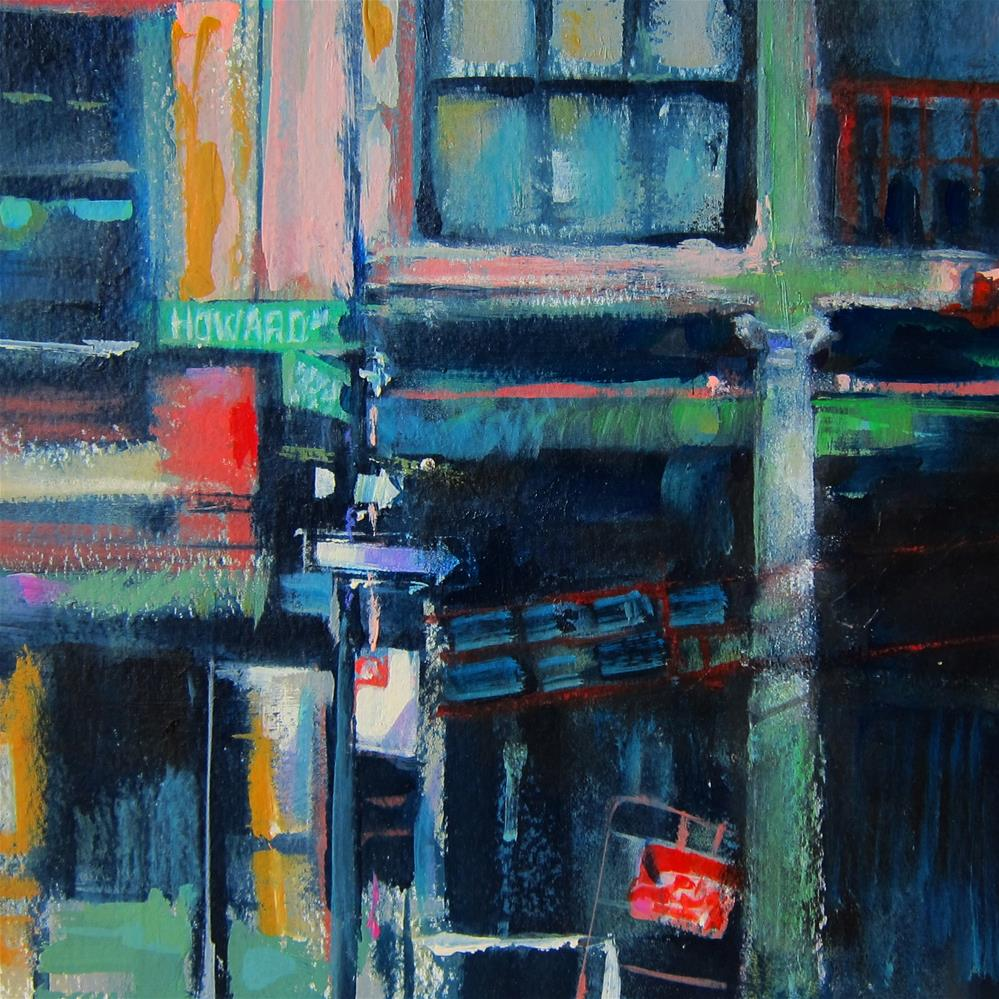 """Howard Street Grunge"" original fine art by Patti Mollica"