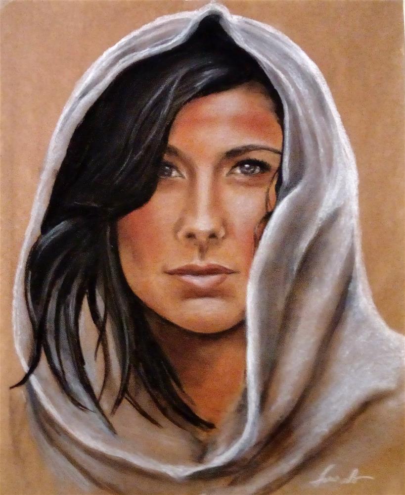 """The Fighter"" original fine art by Laura B."