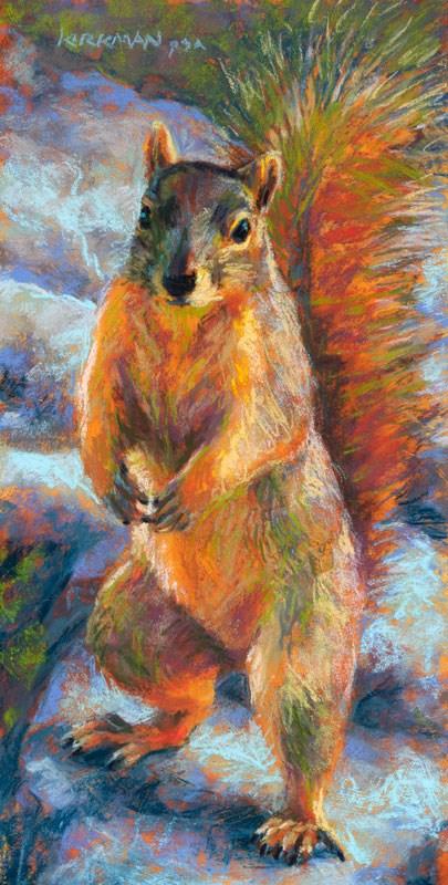 """Shall We Dance?"" original fine art by Rita Kirkman"