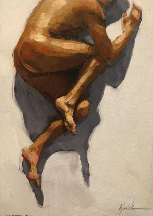 """Figure 1"" original fine art by Karin Jurick"