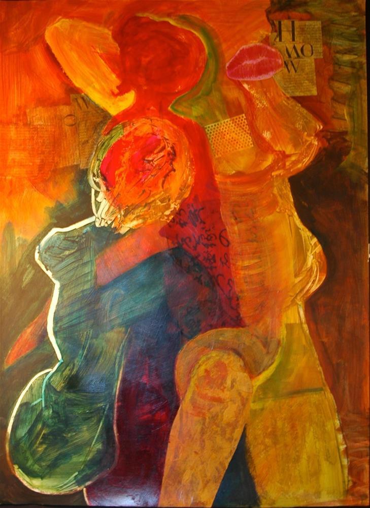 """A Gathering of Gals"" original fine art by Carol Wiley"