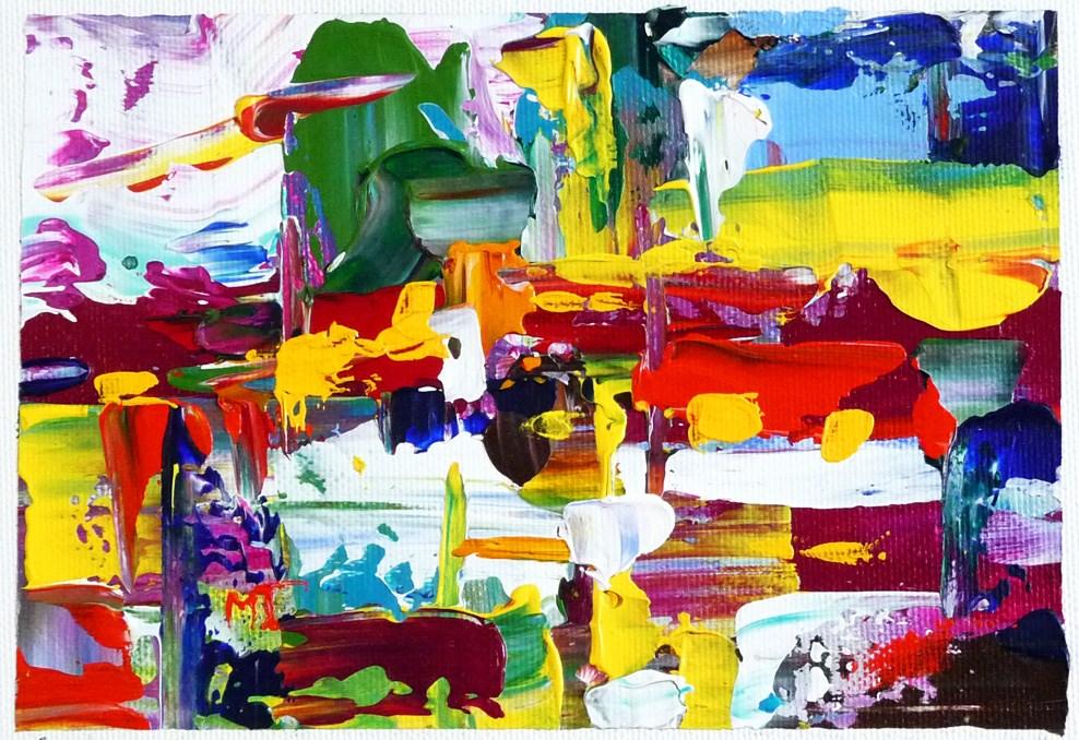 """""""Untitled"""" original fine art by Mikko Tyllinen"""