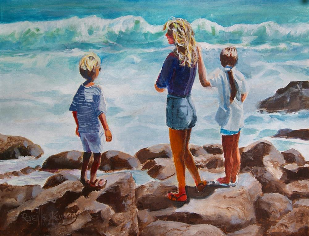 """""""Naturally Inspired by the Sea"""" original fine art by Reveille Kennedy"""