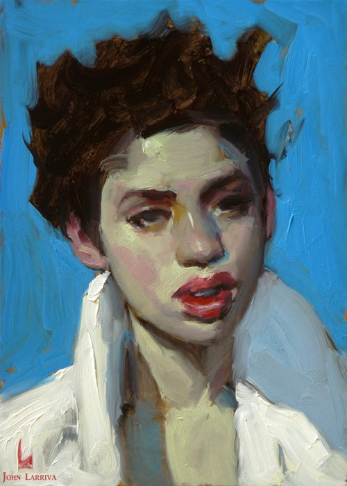 """Blue Hour"" original fine art by John Larriva"