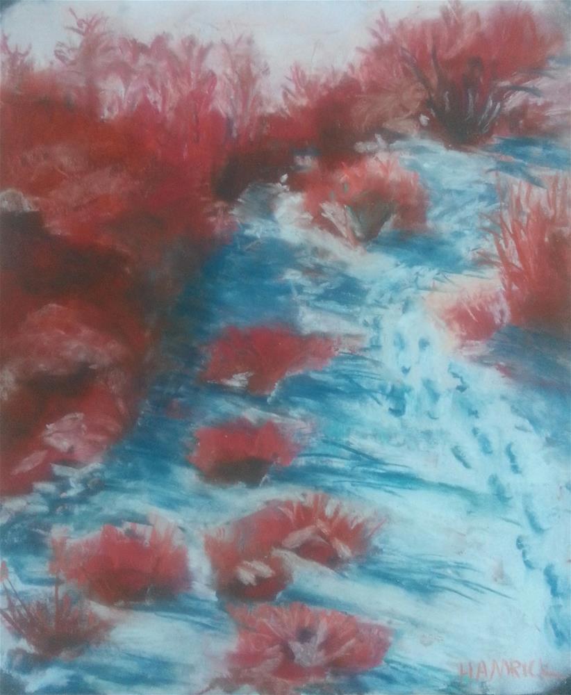 """""""Hot Southwest"""" original fine art by Phyllisha Hamrick"""