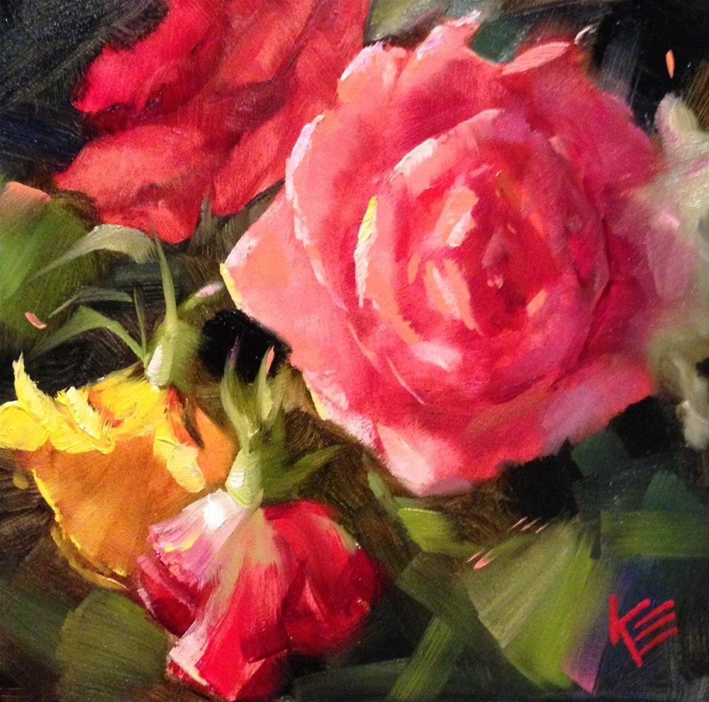"""Surprised by Joy"" original fine art by Krista Eaton"