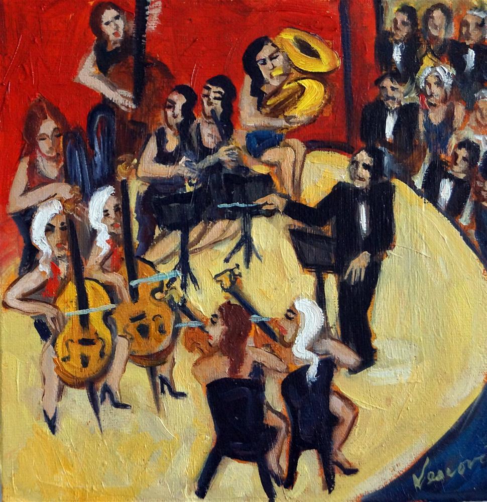"""Carnegie Hall"" original fine art by Valerie Vescovi"