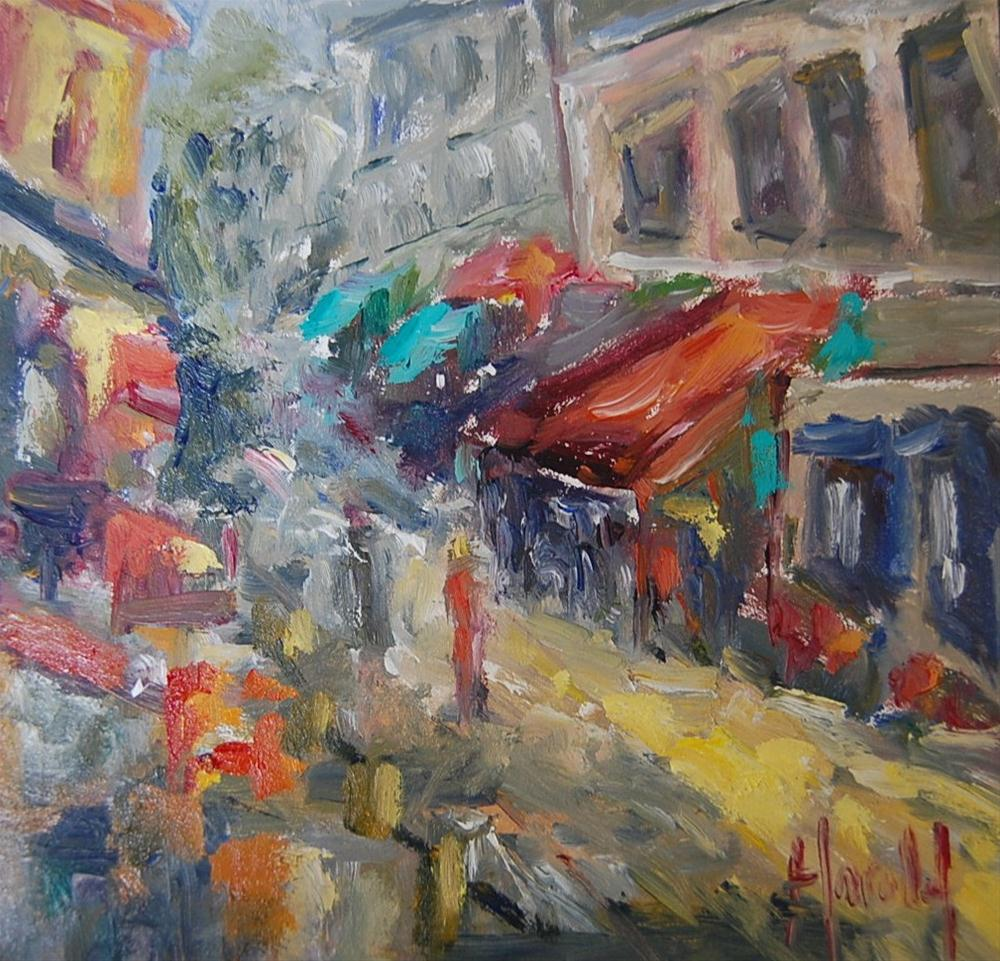 """Market Day"" original fine art by Deborah Harold"
