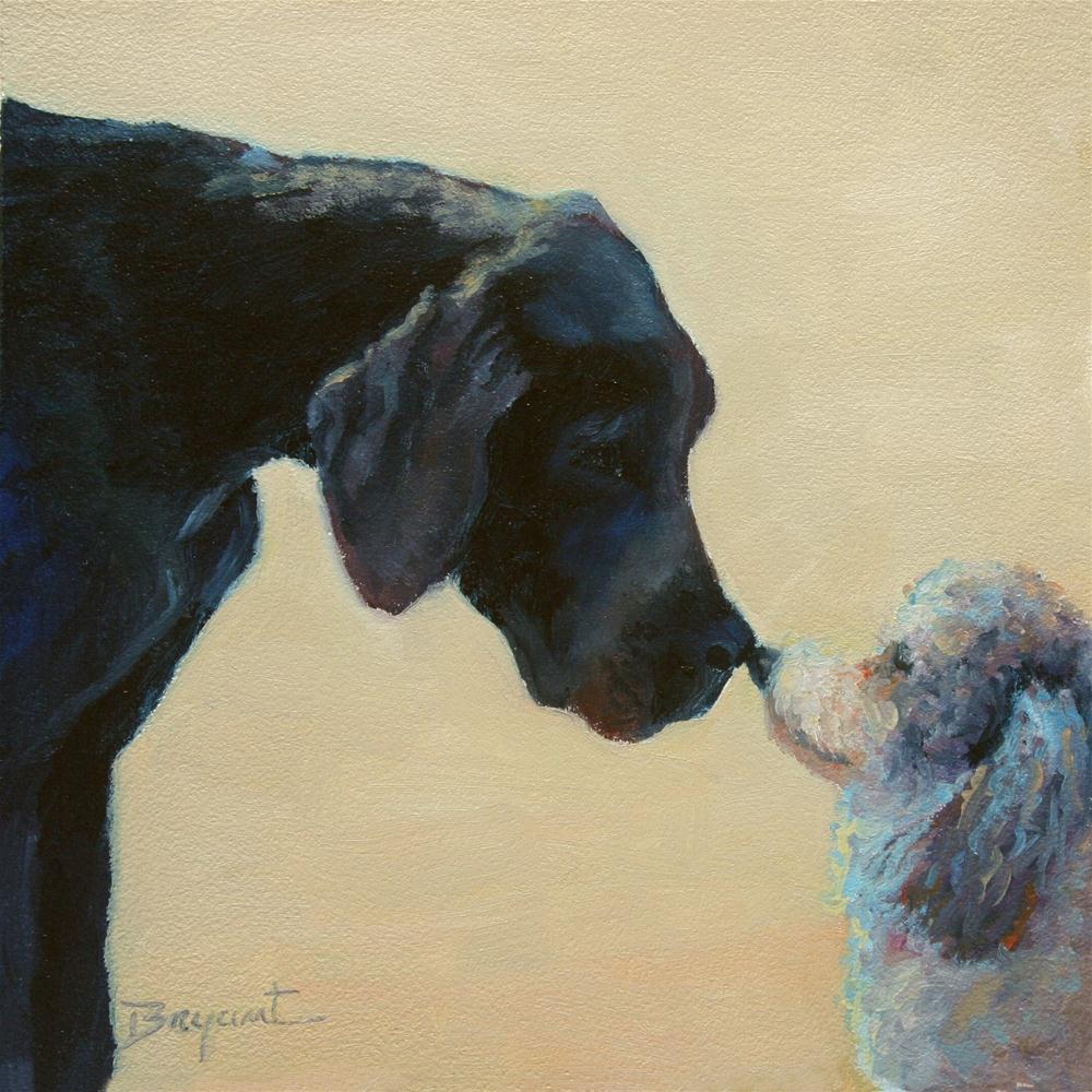 """""""Hello"""" original fine art by Debra Bryant"""
