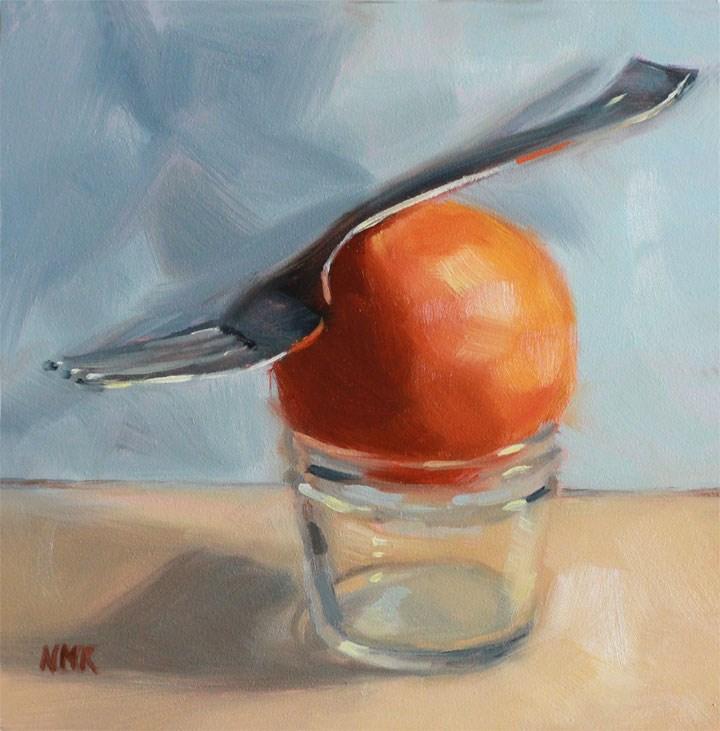 """Balancing Act"" original fine art by Nealy May Riley"