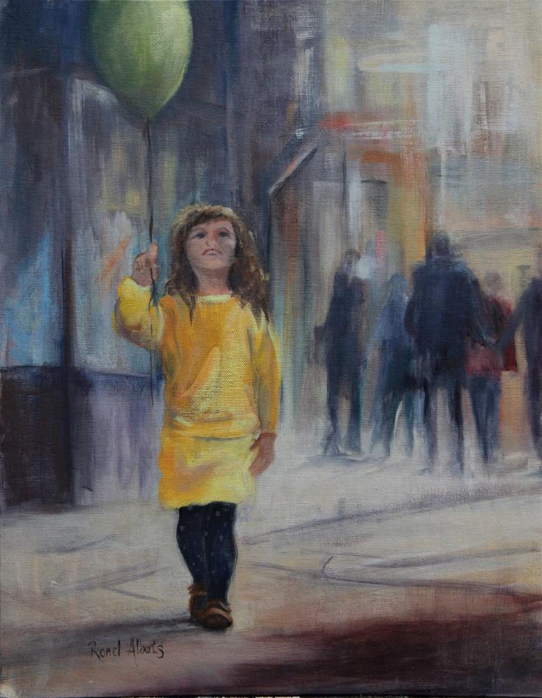 """Innocence of a child"" original fine art by Ronel Alberts"