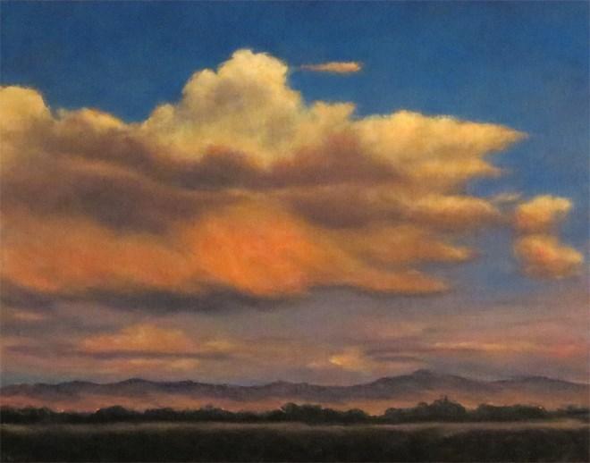 """""""Sprinkling Glow"""" original fine art by Carol Zirkle"""