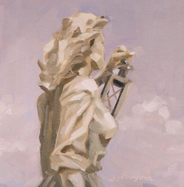 """Lady Of The Sea #2"" original fine art by C J Roughton"