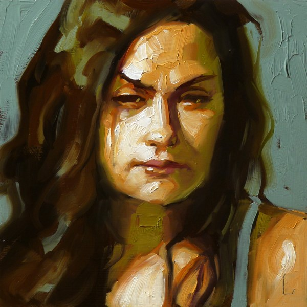 """Glower"" original fine art by John Larriva"