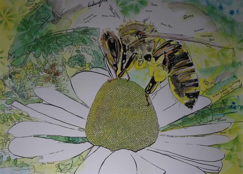 """endangered"" original fine art by Arron McGuire"