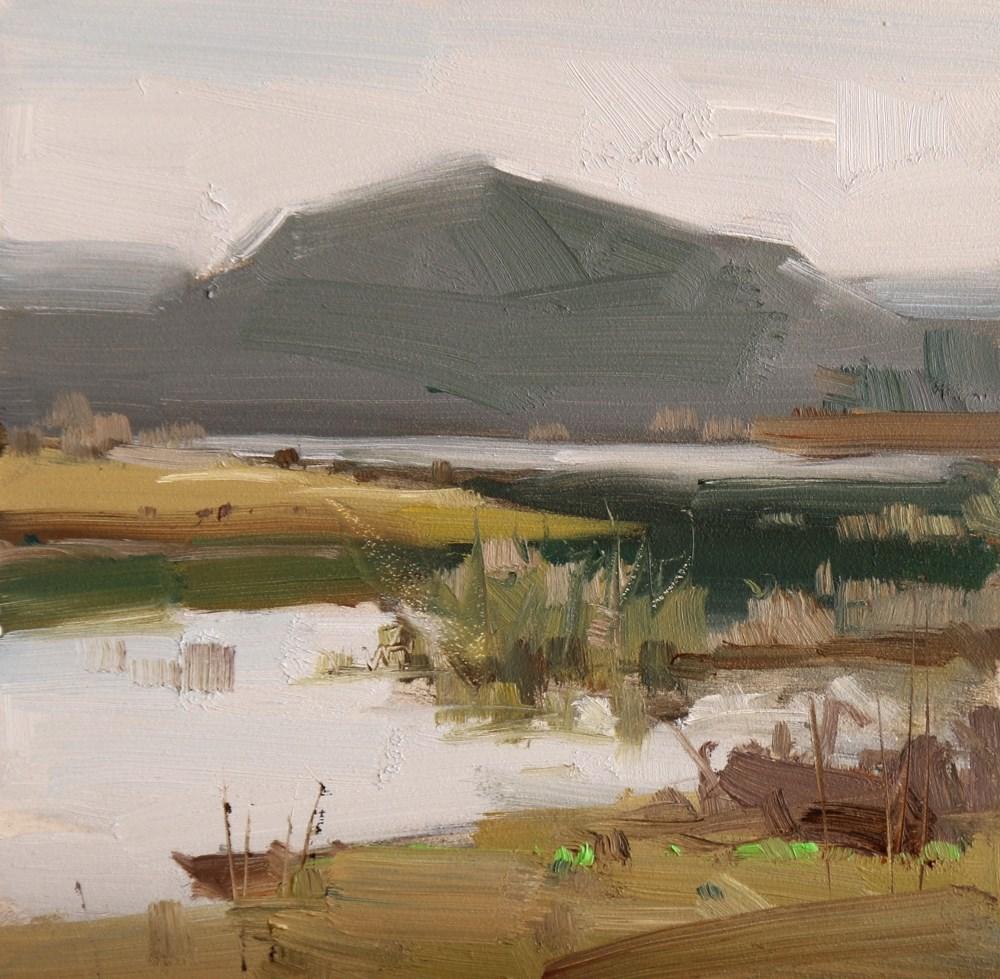"""Cypress Creek Park 3"" original fine art by Qiang Huang"