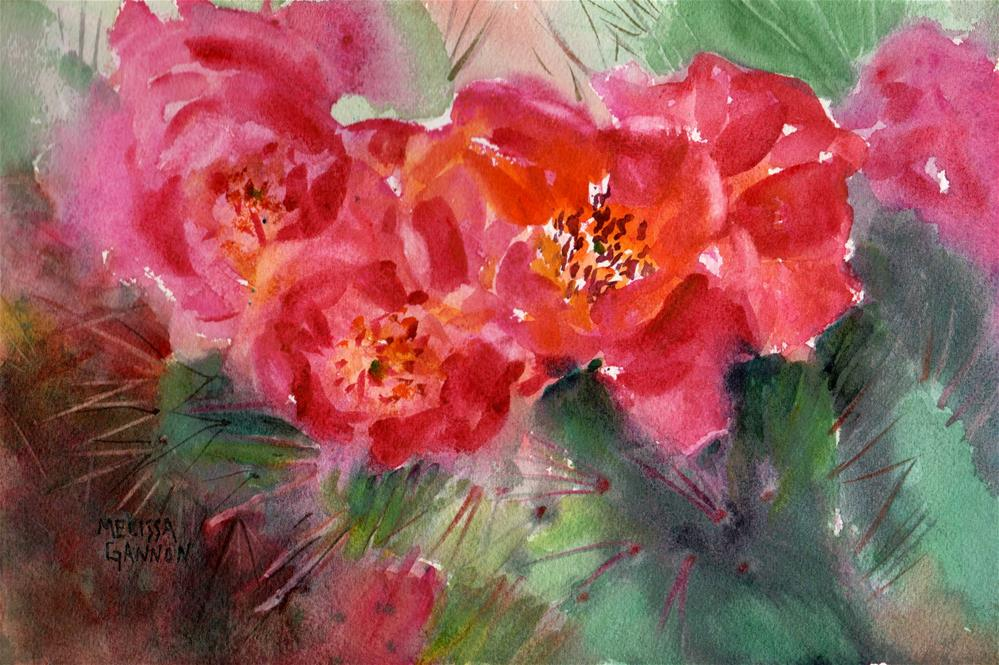"""""""A Spring to Remember"""" original fine art by Melissa Gannon"""