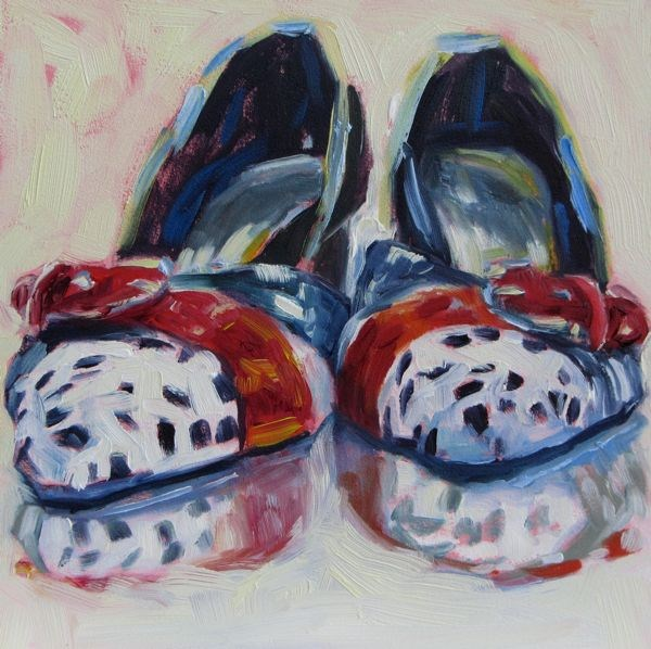 """Dorothy's Other Pair"" original fine art by Mb Warner"