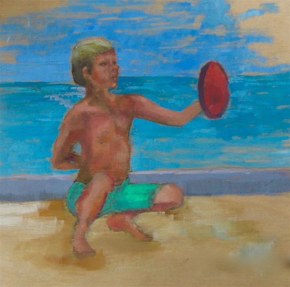 """""""Ready For the Pros"""" original fine art by Christine Holzschuh"""