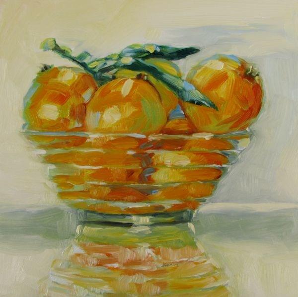"""""""My Clementine"""" original fine art by Mb Warner"""