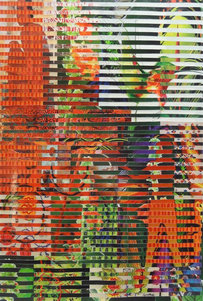 """""""Hummer"""" original fine art by Cynthia Frigon"""