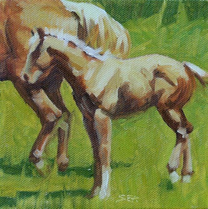 """Yellow Gold"" original fine art by Susan Ashmore"