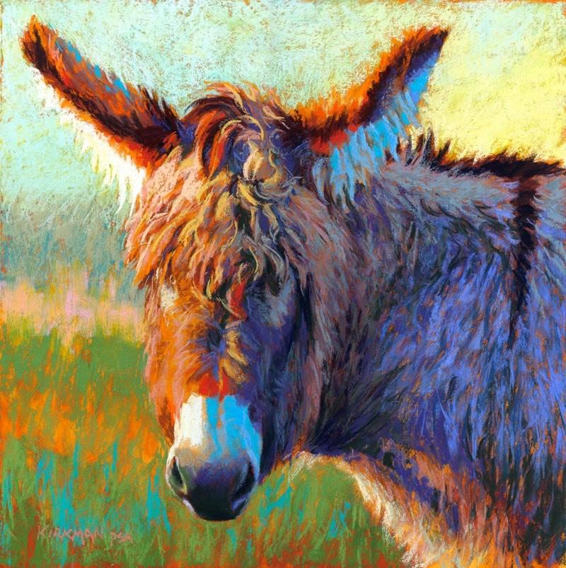 """Don Keifurry"" original fine art by Rita Kirkman"